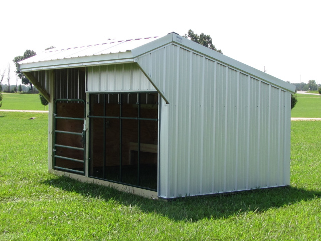 Portable Calf Shed : Bobbs building a shed on rural land